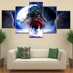 Dragon Ball Z Legendary Broly Art Canvas