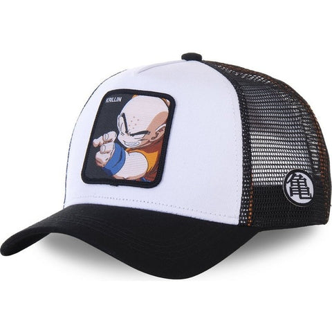 Dragon Ball Z Krillin Black Snapback
