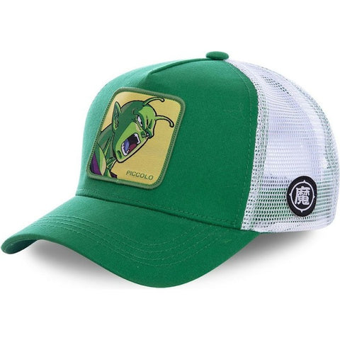 Dragon Ball Z Piccolo Jr Green Snapback
