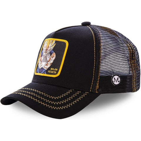 Dragon Ball Z Majin Vegeta Black Snapback