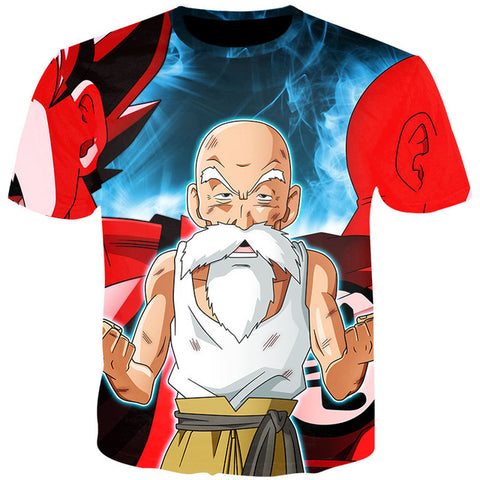 Dragon Ball Z Turtle Hermit Master Roshi T-Shirt