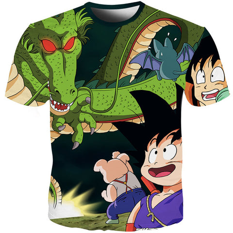 Dragon Ball Z Kid Goku & Oolong Oolong's Quest T-Shirt