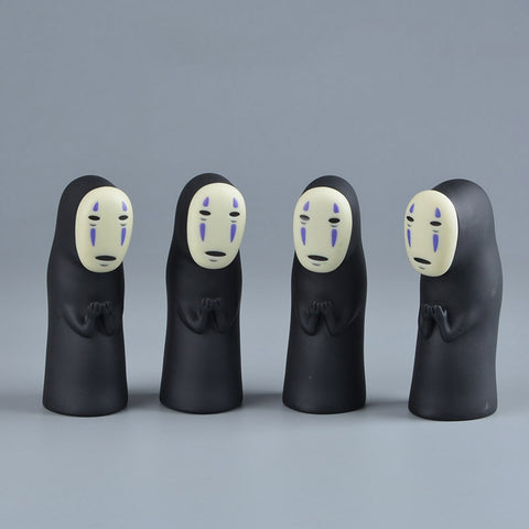 Studio Ghibli Spirited Away No Face Man Vinyl Action Figure Model 8cm