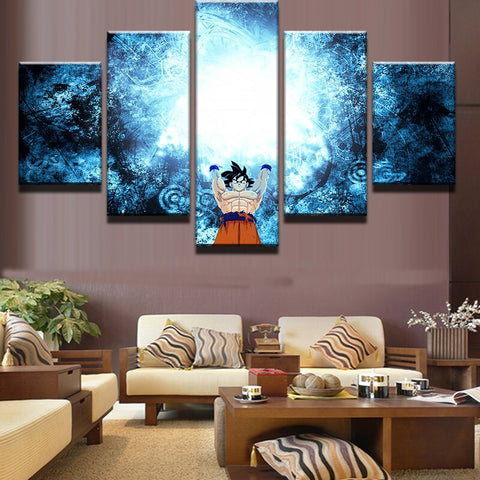 Dragon Ball Z Goku Spirit Bomb Art Canvas