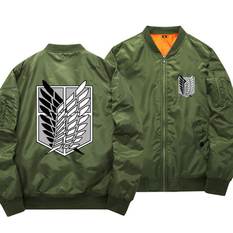 Attack On Titan Survey Corps Bomber Jacket