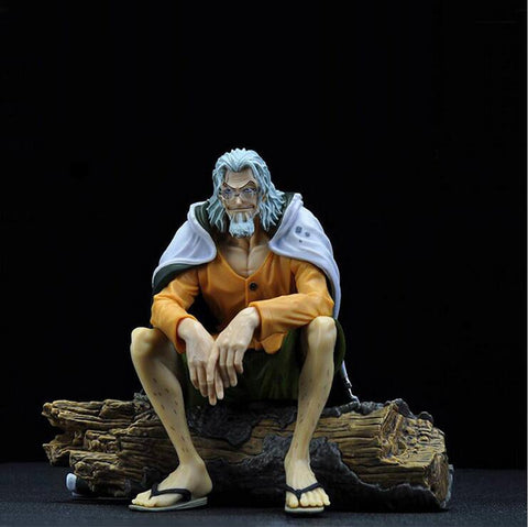 One Piece Silvers Rayleigh Figurine Model