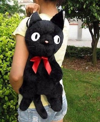 Studio Ghibli Black Cat Jiji Kiki's Delivery Service Backpack