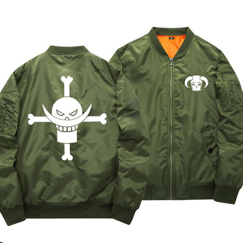 One Piece Whitebeard Pirates Bomber Jacket