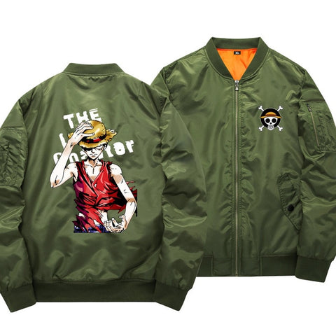 One Piece Monkey D. Luffy Bomber Jacket