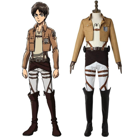 Attack on Titan Eren Yeager Cosplay Costume