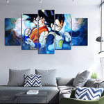 Dragon Ball Z Most Powerful Warriors Art Canvas