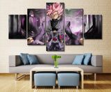 Dragon Ball Z Goku Black Art Canvas