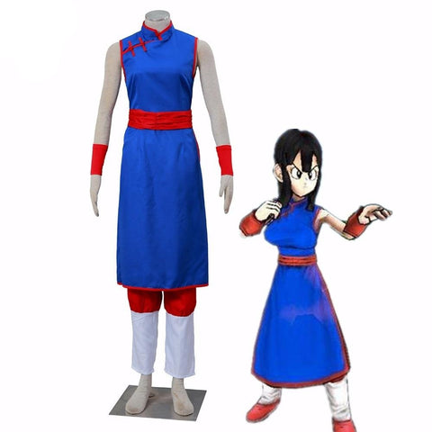 Dragon Ball Z Chichi Blue Cosplay Dress