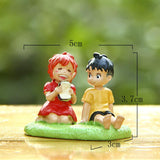 Ponyo on the Cliff by the Sea Figure Resin Action Figure Model