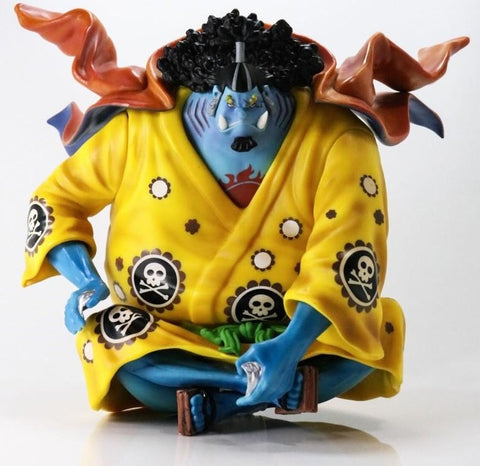 One Piece Jinbe Yellow Costume Figurine Model