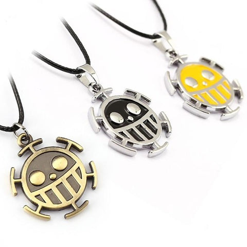 One Piece Trafalgar D. Water Law Pendant Necklace