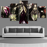 One Piece Dracule Mihawk & Red-Haired Shanks Canvas