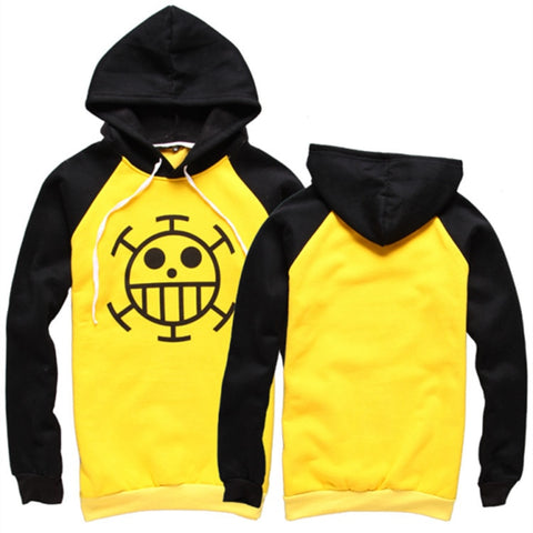 One Piece Trafalgar D. Water Law Signature Outfit Hoodie