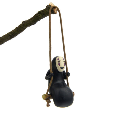 Spirited Away Kaonashi No Face on The Swing Figure