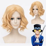 One Piece Sabo Cosplay Wig