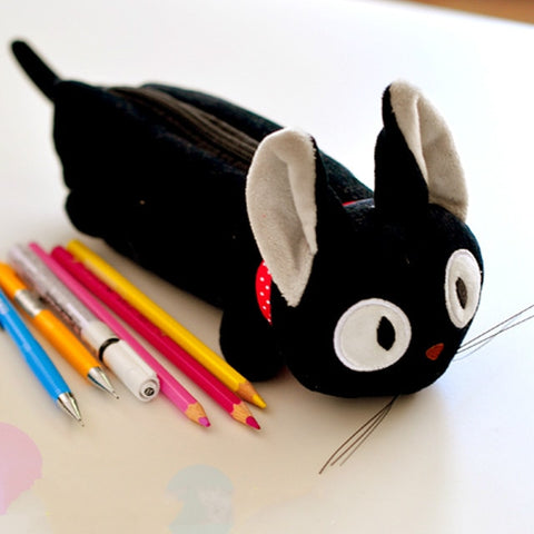 Kiki's Delivery Service Jiji Black Cat Pencil Bag Make Up Case