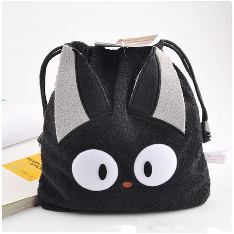 Studio Ghibli Kiki's Delivery Service JiJi Cat Drawstring Bag