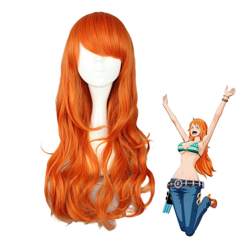 One Piece Nami 2 Years Later Wig Cosplay