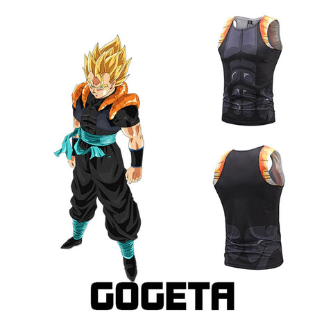 Dragon Ball Z Gogeta Cosplay Tank Top