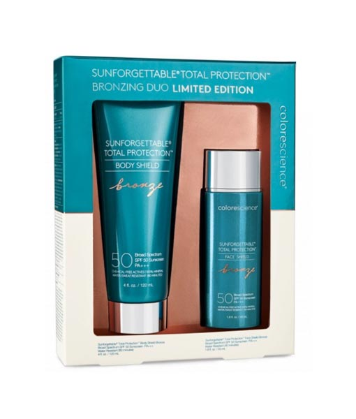 Colorescience® Sunforgettable® Total Protection Face and Body Shield Bronzing Duo