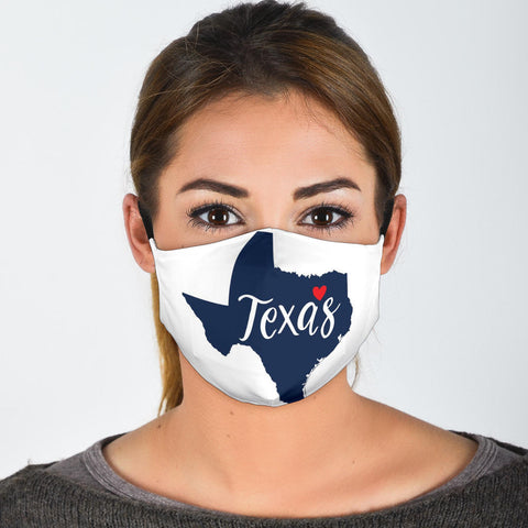 Texas Face Mask + 2 Free Filters