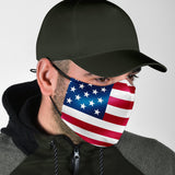 USA Face Mask + 2 Free Filters