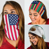 Mexican American Bandannas - 3 Pack