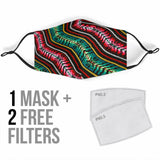 Zarape Face Mask + 2 Free Filters
