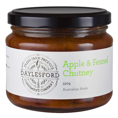 Chutney 330g - Apple & Fennel