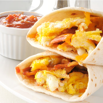 Bacon & Scrambled Egg Wrap