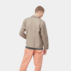 CARHARTT LS MADISON SHIRT - LEATHER / DARK NAVY