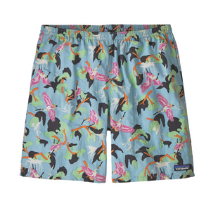 PATAGONIA BAGGIES 7 IN SHORTS - SPOONBILLS : BIG BLUE SKY