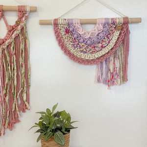 'Happy Earth Boho Garden' Wall Hanging