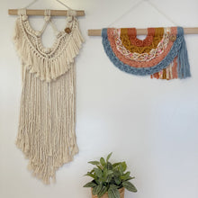 Load image into Gallery viewer, 'Happy Earth Boho Natural' Wall Hanging