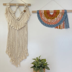'Happy Earth Boho Vintage Dream' Rainbow