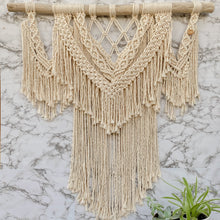 Load image into Gallery viewer, 'Luna' Wall Hanging-Macrame Wall Hanging- Slow Yarn Macrame Handmade Brisbane