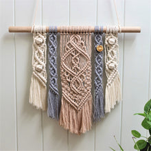 Load image into Gallery viewer, 'Kindness' Wall Hanging-Macrame Wall Hanging- Slow Yarn Macrame Handmade Brisbane