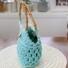 Load image into Gallery viewer, Seafoam 'Ukino' Handbag - Limited Collection - LAST ONE!