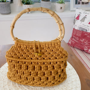 Mustard 'Ukino' Handbag - Limited Collection - SOLD OUT