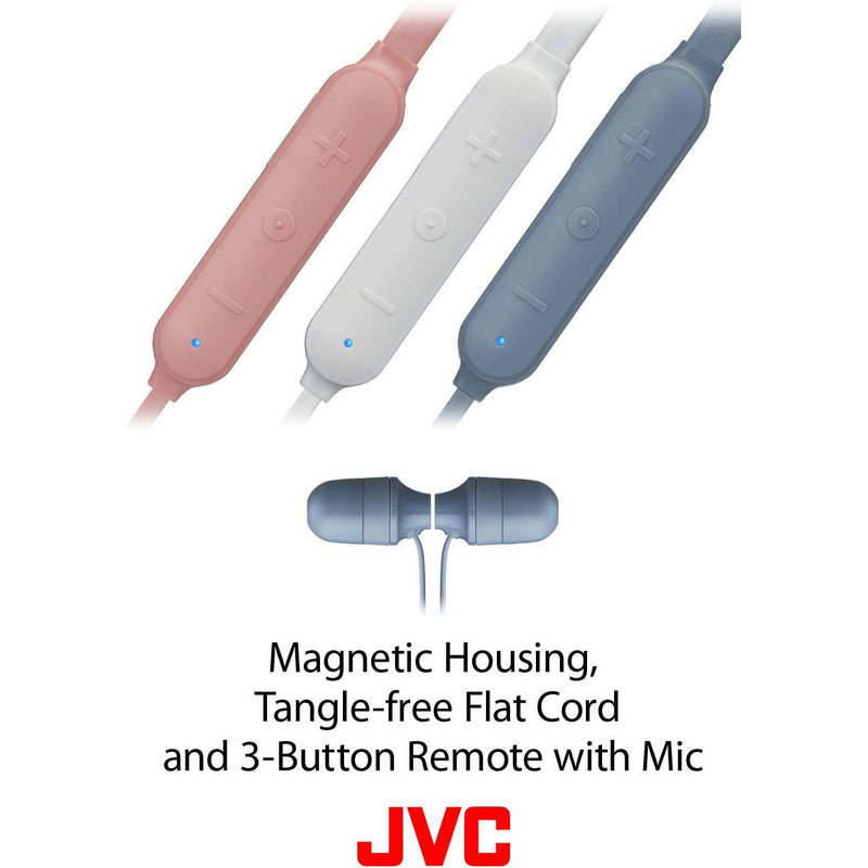 JVC Marshmallow Wireless Memory Foam Earbud, Rain Proof IPX4, Voice Assistant Compatible