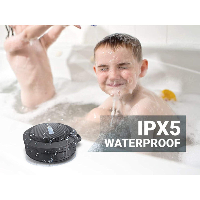 Rugged Water Proof Portable Bluetooth Shower Speaker