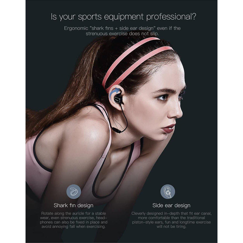 QCY QY19 Wireless Stereo Sport Headphone Hands-free Calling With Strap