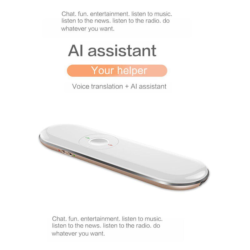 T9 Portable Wifi Voice Translator Two-Way Real Time 40 Multi-Language Translator