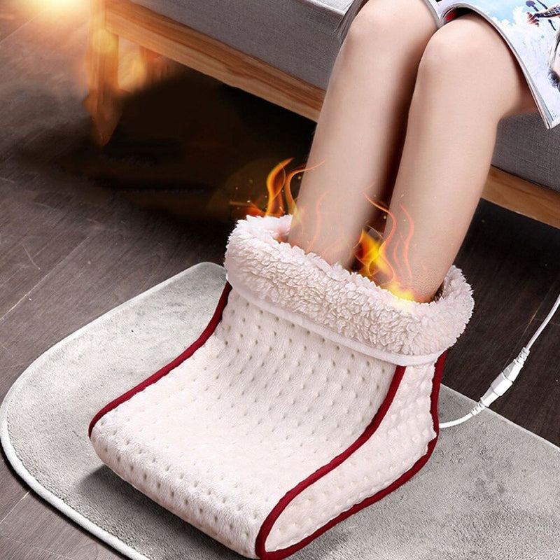 Super Cozy Electric Warm Heated Foot Warmer with 5 Modes Heat Settings Foot Care