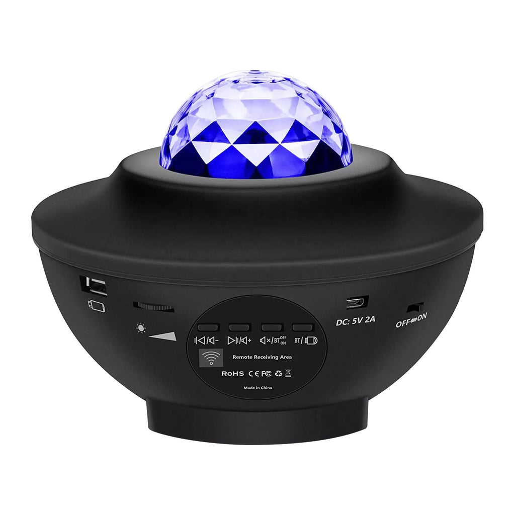 Galaxy Star Projector Music Remote Twinkling Laser LED Starry Sky Night Light Projector